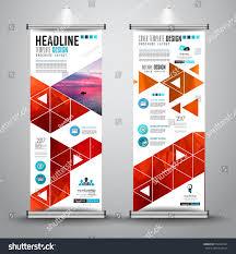 Advertisement Brochure Advertisement Roll Business Flyer Brochure Banner Stock Vector 24