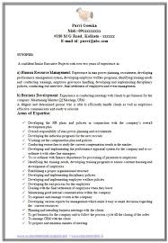 Sample Hr Resumes Experience Course Participation Assistance Work And Income Resume Of A Hr