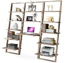 Leaning Shelves With Desk Ladder Bookcase Drawers Wood. Leaning Shelves  Ikea Ladder Diy Wall Shelf Australia. Leaning Shelves Wood Plans Wall Shelf  With ...