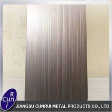 Stainless Steel Sheet Finishes Chart Hl Hairline And No 4 Finish Stainless Steel Sheet Jiangsu