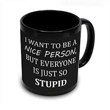 nice person office. Plain Nice I Want To Be A Nice Person Mug Office Humor Funny Sarcastic Inside