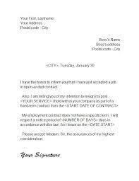 letter of resignation   – resignation letterresignation letter