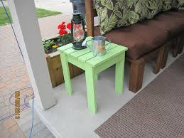 ana white  outdoor end table  diy projects