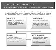 10 Literature Review Outline Templates Pdf Doc Free Premium