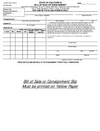 Bill Of Sale Auto California Printable Bill Of Sale Ca Download Them Or Print