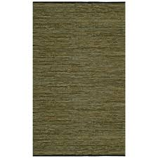 this review is from green leather 8 ft x 10 ft round area rug