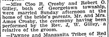 Cleo crosby - Newspapers.com