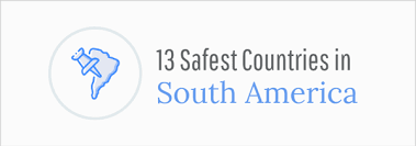 13 safest countries in south america