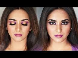 violet glam spring makeup tutorial