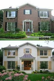 how much to charge for painting a house exterior the before and after the changes to