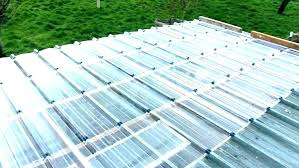 corrugated polycarbonate roof panel clear roof panels roofing panel in clear clear roof panels s home