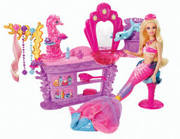Barbie The Pearl Princess Hair Salon