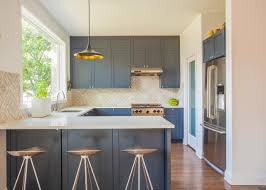 Image of: Galley Kitchen Design with Breakfast Bar