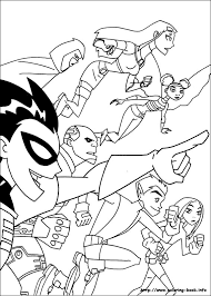 Small Picture Titans coloring picture