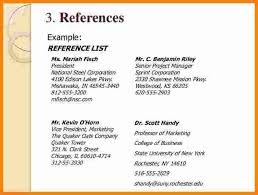 reference resume sample resume sample references references on .
