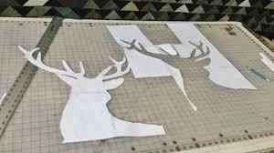 Deer Quilt Sew-Along with LUKE Haynes - Week One | WeAllSew & deer head template Adamdwight.com