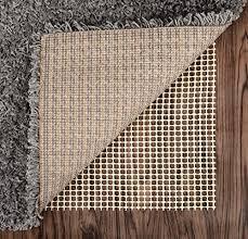 abahub anti slip rug pad 2 x 3 for under area rugs carpets runners doormats on wood hardwood floors non slip washable padding grips wantitall