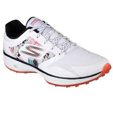 skechers golf shoes. skechers go golf birdie tropic women\u0027s golf shoe - white/black/red shoes