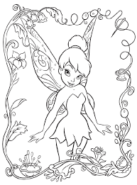 Small Picture Tinkerbell Free Coloring Pages FunyColoring