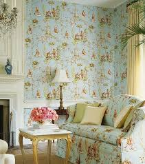 Wallpaper Inspired By Country French And English Springtime Style French Country Style Wallpaper