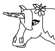 Disegno Di Unicorno Ii Da Colorare Acolorecom
