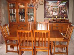 mission style dining room set arelisapril