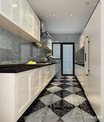black and white diamond tile floor. Black And White Diamond Marble Kitchen Floor Design Cabinet With Granite Countertop Tile