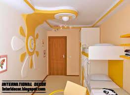 Ceiling False Ceiling Design Wallpaper Fresco Stencil Modello Pop Design In Room