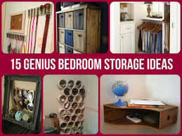 Creative Cheap Bedroom Storage Ideas