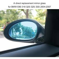 BMW Convertible bmw e90 330i problems : Right Side Door Wing Mirror Glass with Heated Function for BMW E90 ...