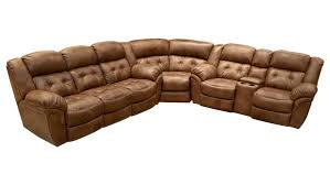 cozy corner reclining sectional