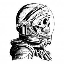 Vector Illustration Cosmonaut Vector Free Download
