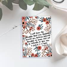 future a hope scripture card