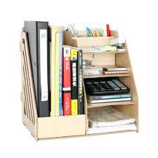 decorative office supplies. desk wood accessories sets 1 set diy natural color document trays decorative office supplies