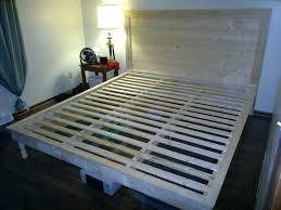 Platform Bed Plans King King Size Bed Frame Platform Bed Download By