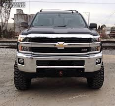 Wheel Offset 2015 Chevrolet Silverado 2500 Hd Slightly Aggressive ...