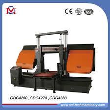 industrial metal band saw. china industrial metal cut off pipe cutting band saw machine (gdc4260) - double column horizontal sawing mac,