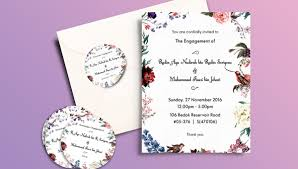 50 Printable Engagement Invitation Templates Psd Ai