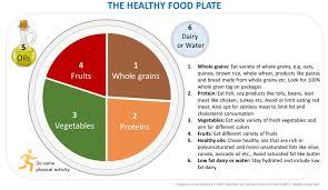 Food Pie Chart Usda What Is Healthy Eating Diet Or Balanced Diet Watch What U Eat