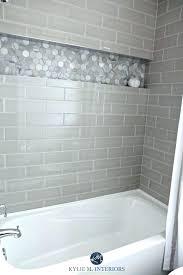 bathroom remodel gray. Light Grey Subway Tile Shower Our Bathroom Remodel And More Showers Gray  Interior Design For Best