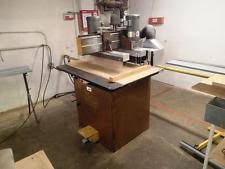 old woodworking machines. ritter r-46 dual line boring machine (woodworking machinery) old woodworking machines