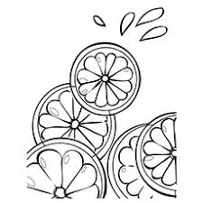 Small Picture Top 10 Lemon Coloring Pages For Toddlers