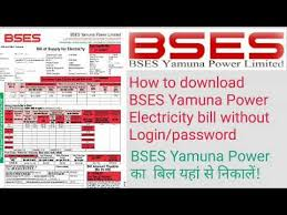 how to bses yamuna power