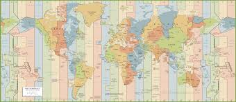 world map  active world time zone map  best world time zone map