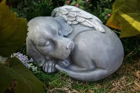 dog garden statue. Beagle Garden Statue Dog Angel Beautiful Pet Memorial Sculpture E
