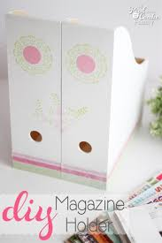 How To Make A Magazine Holder From Cardboard Awesome Make This Adorable DIY Magazine Holder