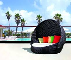 Outdoor Lounger With Canopy Back To Outdoor Daybed With Canopy Swing ...