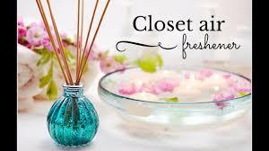 closet air freshener in less than 5 min