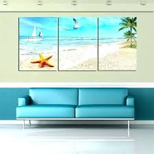personalized beach canvas wall art