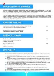 Doctor Resume Example Of Mbbs Sample India Format Pdf Consultant For